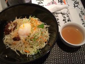 自家製味噌炸醤麺