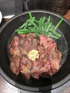 ワイルドステーキ(インゲン)