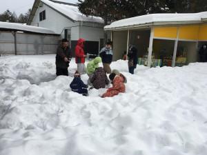雪山宝探しゲーム
