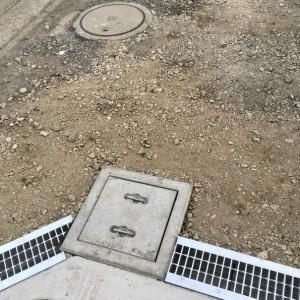排水溝と枡