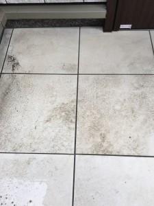 玄関の汚れ