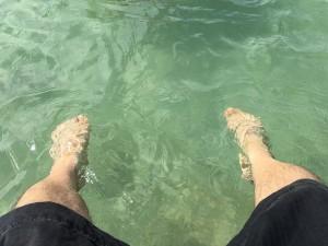 海水プール