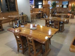 ひさ倉 テーブル